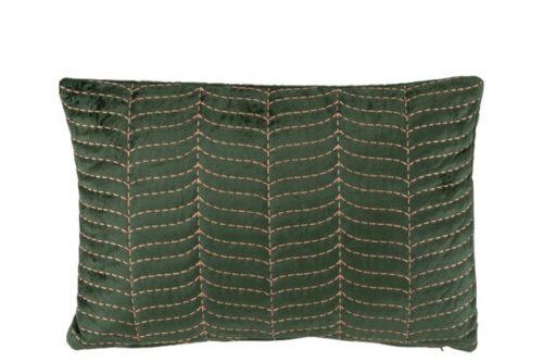 Cuscino Felce Rettangolare Viscosa Verde/Malva | Jolipa