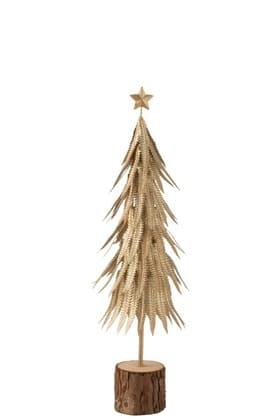Albero Di Natale Metallo Paillette Oro Small   Jolipa