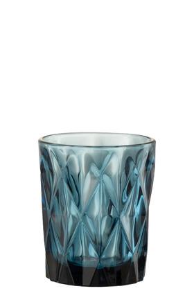Bicchiere Mona Vetro Blu – Jolipa
